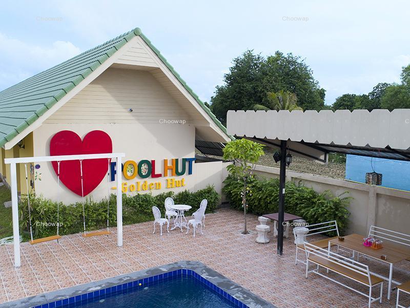 别墅泳池小屋